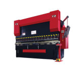Wc67k-100t/3200 Hydraulic Press Brake with Da52s