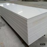 Feuille extérieure solide blanche de Corian de glacier de la décoration 6mm (M1610011)