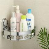 ABS Materiaal verchroomde het Geplateerde Rek van de Shampoo van de Hoek van de Badkamers
