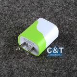 力のアダプター電池の壁旅行USBの携帯電話の充電器