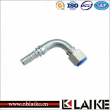 90degree Orfs Female Flat Seat per Hydraulic Hose Fitting (24293)