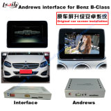 (15-16) Navigatore dell'interfaccia di multimedia Android di aggiornamento di GPS dell'automobile video per benz C/E/a/B/Ml/Glk, 1080P/WiFi/Mirrorlink/Bt