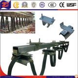 Grúa del adorno de sistemas de cable de acero galvanizado de carros portacables carretilla