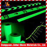 Incandescenza domestica di verde del nastro della decorazione autoadesivo scuro/Photoluminescent della pellicola