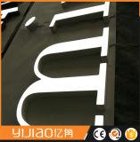 Premier signe acrylique de lettres de Frontlit DEL de pente