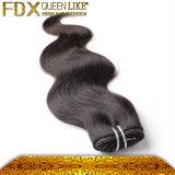 最もよい毛の拡張熱い販売のバージンの毛の拡張人間の毛髪(FDX-SM-2016-6)