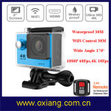 Waterproof 1080P 4k Sports Action Camera para esportes ao ar livre