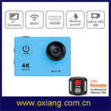 Wrist Remote ControllerのGopro Hero3 Style 4k WiFi Sport Camera