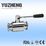 Yuzheng Sanitary Pneumatic Ball Valve mit Bundesrepublik L Unit