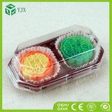 Torta disponible 2 4 que empaqueta la caja de empaquetado china plástica de Mooncake