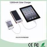 Wasserdichte Silicone Flashlight Solar 12000mAh Power Bank (SC-1688)