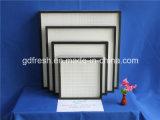 Filtre de HEPA pour la ventilation et le dispositif de climatisation, pièce de nettoyage