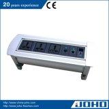 Tipo rotatorio tirón de escritorio del socket de aluminio del vector del socket encima del socket de escritorio