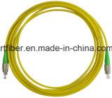 Câbles recto de connexion de fibre de FC/APC-FC/APC