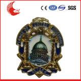 Emblemas baratos do Pin de metal da forma por atacado