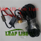 90W 12-24V DEL Underwater Fishing Lights avec Solor Plate, Solar Fishing Attracting Light