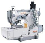 Máquina de coser del dispositivo de seguridad de alta velocidad del mecanismo impulsor directo con el condensador de ajuste auto