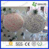 EPS sfera Polyfoam per albero di Natale del fiocco di neve Polistirolo