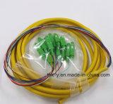 LC / ST / LC / FC 6/12/24 Cores Multi-Fibras Bundle coleta