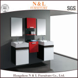 Cabina de cuarto de baño plástica moderna europea de la vanidad del servicio del PVC