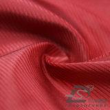 Agua y de la ropa de deportes tela tejida chaqueta al aire libre Viento-Resistente 100% del poliester del telar jacquar de la tela cruzada abajo (53158)