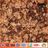 Poliéster especial da série de Ideabond e de revestimento de PVDF olhar ACP do granito e da pedra