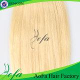Hochwertige Remy Menschenhaar-Extensions-blondes Jungfrau-Brasilianer-Haar