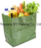 Saco de compra não tecido amigável de Eco PP do logotipo feito sob encomenda