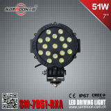 7 pollici 51W Round LED Driving Light (SM-7051-RXA)