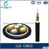 고품질 공장 가격 방수 떠꺼머리 광학 섬유 케이블 Gja 2-12 코어 다중 최빈값 광섬유 케이블