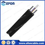 precio óptico del cable de gota FTTH de la fibra de interior al aire libre de 2core