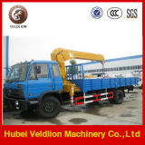 Dongfeng 6.3 Ton Truck with Crane (XCMG brand crane)