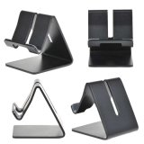 Universalform-Tischplattenaluminiumstandplatz für iPad/Telefon