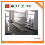 Aduana de la fábrica que hace publicidad del estante 07289 del supermercado de la visualización