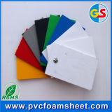 PVC天井のためのプラスチック内部ドアの白17mm PVC Celuka泡のボード