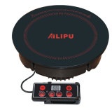 Ailipu Built in Round Line Control Induction Stove per Hot Pot/Coffer Cooking Sm-H201