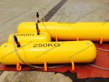 saco de água do teste de carga 100kg para o barco salva-vidas e o corredor central