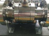 ASTM A182 F51 forjou a válvula de esfera do eixo