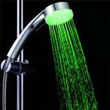 シャワー用ホース(SDS-A9)が付いているLEDのシャワー・ヘッドを変更するカラー