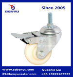65mm 유럽인 Type Elastic Nylon Locking Casters