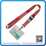 Bildschirm Print Polyester Neck Cord Identifikation Card Lanyards mit Brand Logo
