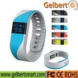 Gelbertのスマートなブレスレットの心拍数のモニタの防水Bluetoothのスマートな腕時計