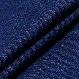 Blaues Ausdehnungs-Baumwollspandex-Denim-Gewebe für Frauen-Jeans
