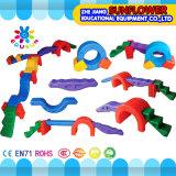 Jardim Diversão Brinquedo Plástico Multifuncional Combinado Equilíbrio Beam Brinquedos para crianças Braço de equilíbrio plástico de jardim de infância (XYH-174-1 / 2)