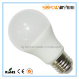 aluminio 8W envuelto por Plastic RGBW que controla la lámpara del bulbo del LED