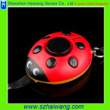 Alarma de la alarma personal del Ladybug la mini para la muchacha embroma Hw-3202