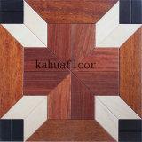 Lujo y arte de múltiples capas de parqué de madera compuesta piso