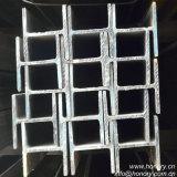 Viga de acero de la estructura H para el material de construcción de marco de acero