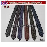 Laço tecido da gravata dos laços do Mens jacquard de seda novo clássico (T8084)
