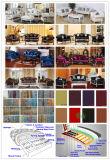 Hölzernes Gewebe-Sofa für Wohnzimmer-Möbel stellte ein (D987B)